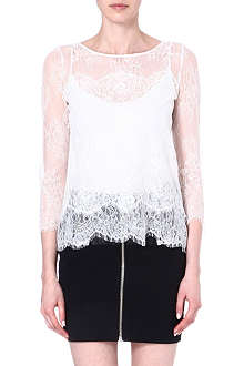THE KOOPLES White lace top