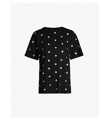THE KOOPLES 点缀棉 T 恤 (Bla01