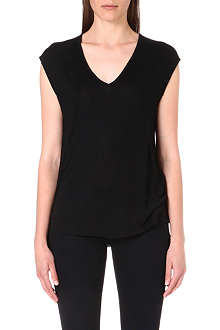 THE KOOPLES SPORT V-neck modal t-shirt