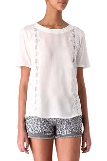 THE KOOPLES Lace t-shirt