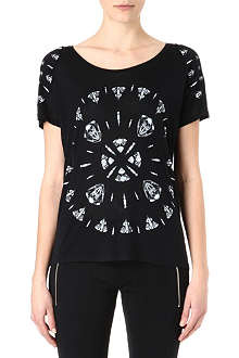 THE KOOPLES SPORT Target Skullheads t-shirt