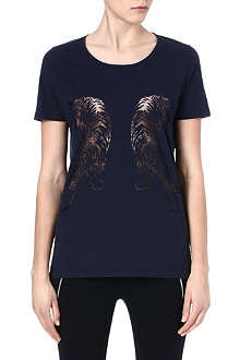 THE KOOPLES SPORT Tiger print t-shirt