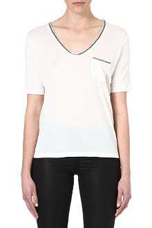 THE KOOPLES Embellished jersey t-shirt