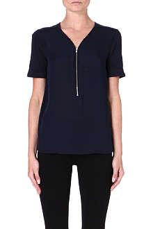 THE KOOPLES SPORT Zip embellished T-shirt
