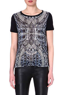 THE KOOPLES Kaleidoscope print t-shirt
