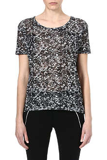 THE KOOPLES SPORT Graphic Flowers t-shirt