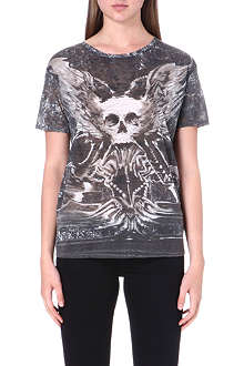 THE KOOPLES Printed skull t-shirt