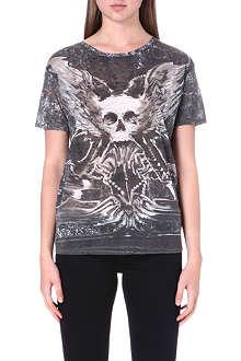 THE KOOPLES Printed skull t-shirt