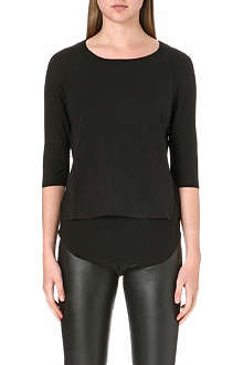 THE KOOPLES Overlay jersey top
