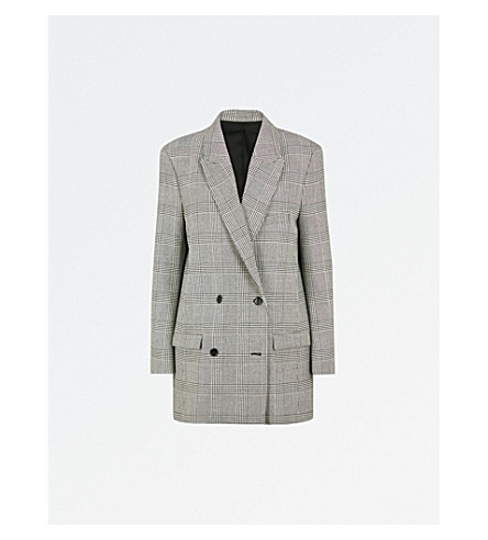 THE KOOPLES Checked woven jacket (Bla06