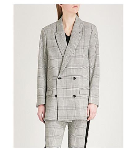 THE KOOPLES Checked woven jacket (Bla06