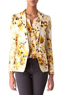 THE KOOPLES Floral-print jacket