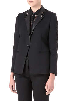 THE KOOPLES Biker-collar blazer
