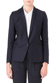 THE KOOPLES Polka-dot jacquard blazer
