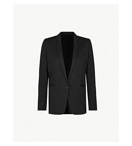 THE KOOPLES Stretch-wool jacket (Black