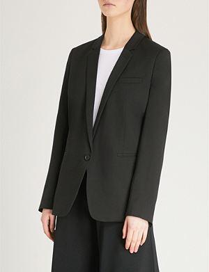 THE KOOPLES Satin lapel jacket