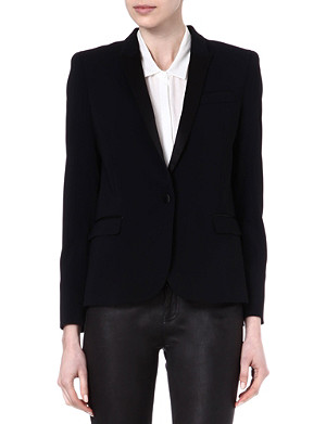 THE KOOPLES Dinner jacket with satin collar