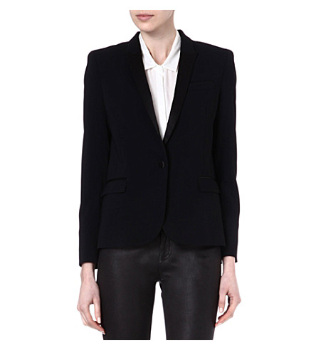 THE KOOPLES Dinner jacket with satin collar (Black