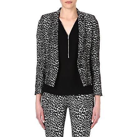 THE KOOPLES SPORT Leopard-print blazer (Leopard