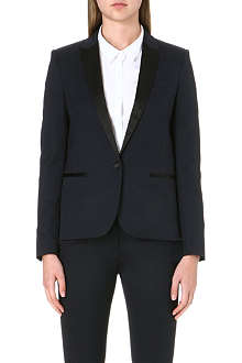 THE KOOPLES Satin lapel jacket