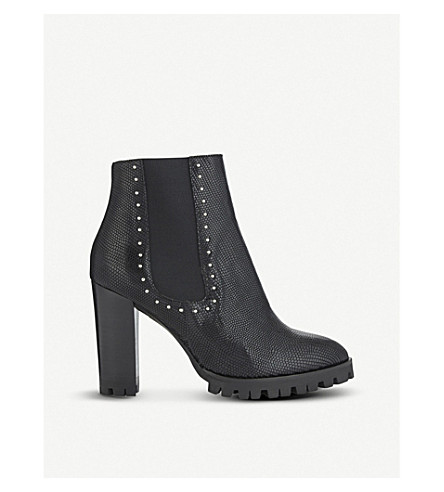 THE KOOPLES Studded leather ankle boots (Bla01