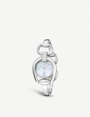 gucci ya139504 horsebit quartz