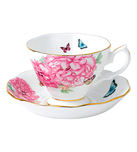 ROYAL ALBERT Miranda kerr friendship teacup and saucer