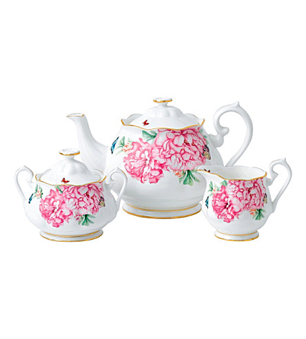 ROYAL ALBERT Mirand kerr Friendship 3-piece tea set