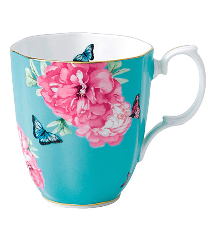 ROYAL ALBERT Miranda Kerr Friendship turquoise mug
