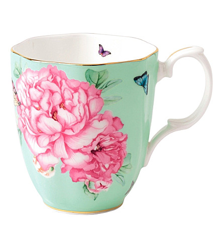 ROYAL ALBERT Miranda Kerr Friendship green mug