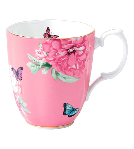 ROYAL ALBERT Miranda Kerr Friendship pink mug