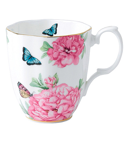 ROYAL ALBERT Miranda Kerr Friendship white mug