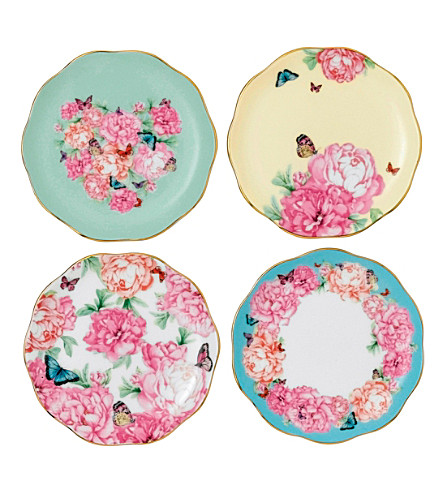 ROYAL ALBERT Miranda Kerr set of four 10cm coasters