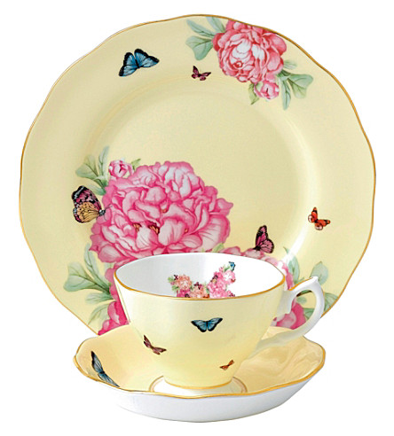 ROYAL ALBERT Miranda Kerr Joy 3-piece tea set