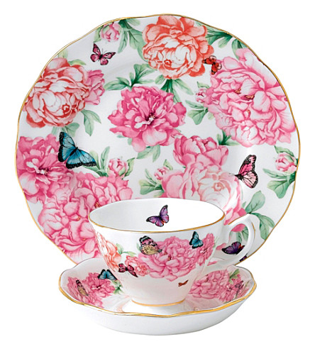 ROYAL ALBERT Mirand kerr gratitude 3-piece china set