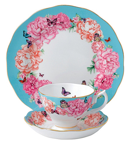 ROYAL ALBERT Miranda Kerr Devotion 3-piece tea set