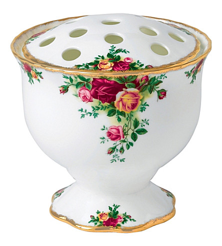 ROYAL ALBERT Olcoro rose bowl 14cm/5.5in (gw)