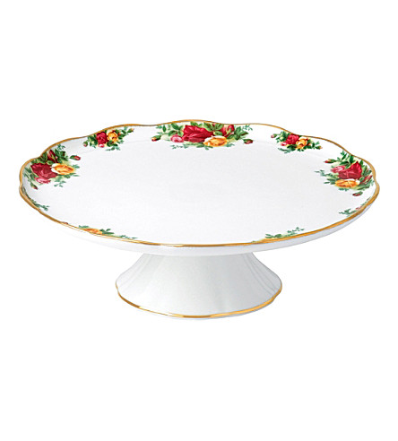 ROYAL ALBERT Olcoro l/s cake stand 30.5cm/12in (ocr)