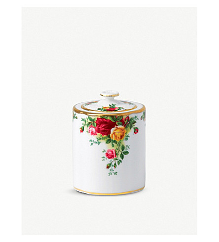 ROYAL ALBERT Olcoro tea caddy 0.54ltr/1.1pt (ocr)