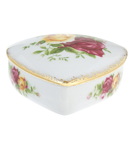 ROYAL ALBERT Olcoro heart box 6cm/2.4in (ocr)