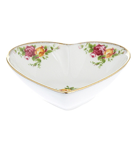 ROYAL ALBERT Olcoro heart tray 13cm/5.1in (ocr)