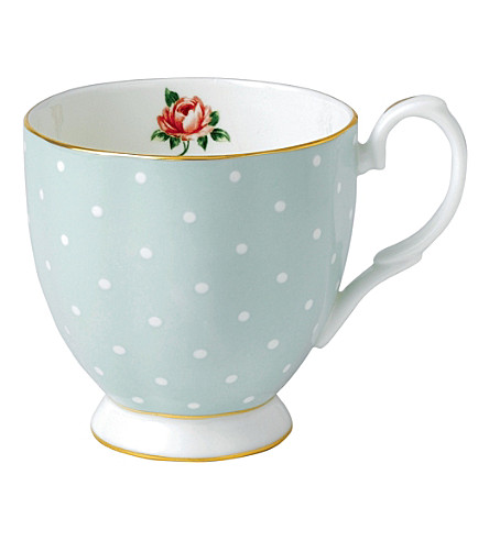 ROYAL ALBERT Polka Rose mug