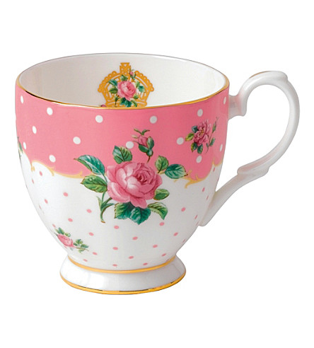 ROYAL ALBERT Cheeky Pink mug