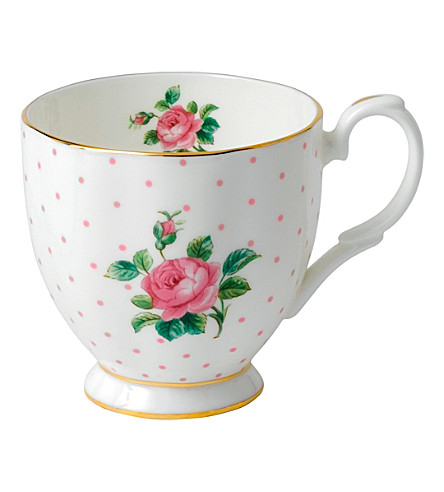 ROYAL ALBERT Pink Roses mug