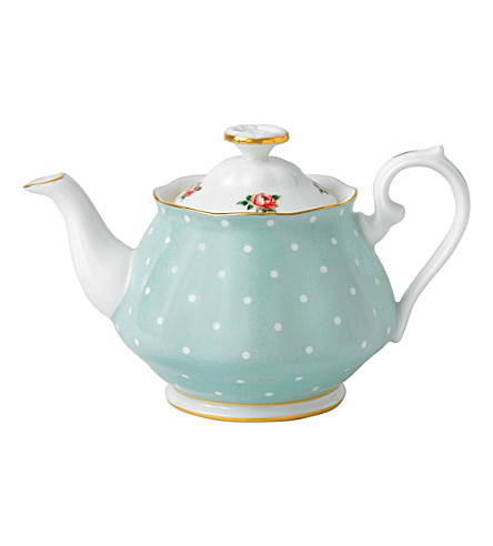 ROYAL ALBERT Polka Rose teapot 450ml