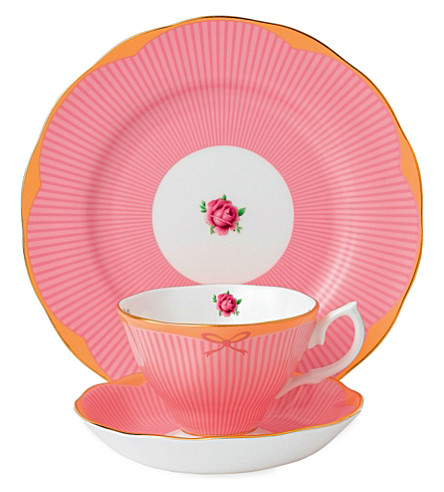 ROYAL ALBERT Candy Sweet Stripe 3-piece set