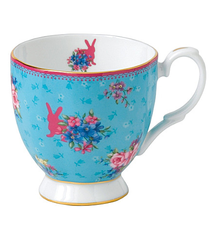 ROYAL ALBERT Candy Honey Bunny mug
