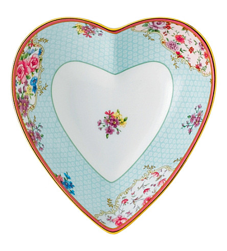 ROYAL ALBERT Candy Sitting Pretty heart tray