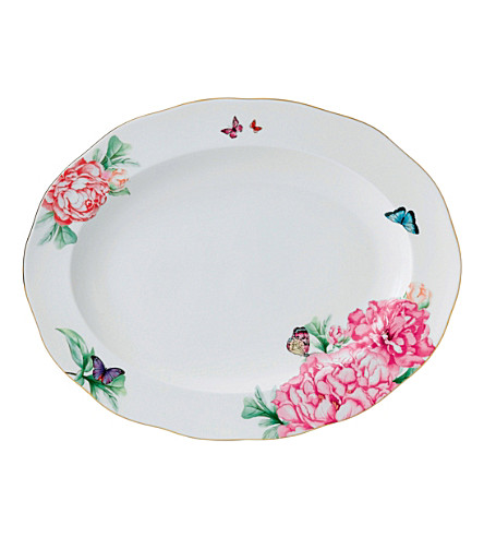 ROYAL ALBERT Mirand platter 33cm/13in friendship