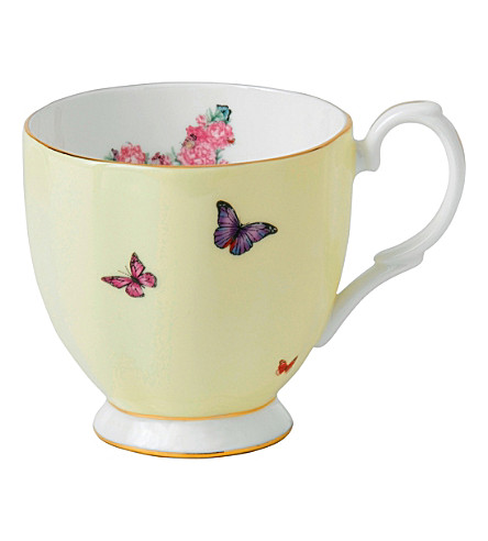 ROYAL ALBERT Mirand ftd vintage mug 0.3l/10.5floz joy